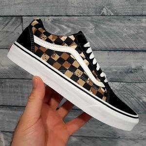 Vans OLD SKOOL Checkerboard Shoes Men's 7.5